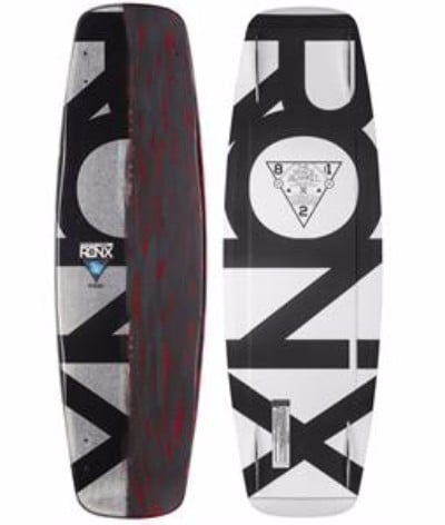 Ronix 2016 Space Blanket Air Core Wakeboard Review- Metallic Silver /Brushed Orange