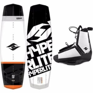 Hyperlite 2017 Vapor Wakeboard with Destroyer Wakeboard Bindings Review