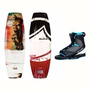 Liquid Force 2017 RDX Wakeboard with Optima 2 Bindings Review