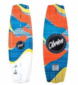 O'Brien 2017 Pixel Wakeboard with Nova Binding Review