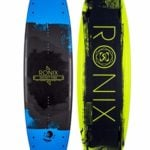 Ronix 2017 District Park Matte Metallic Black and Blue Wakeboard