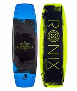 Ronix 2017 District Park Matte Metallic Black and Blue Wakeboard Review