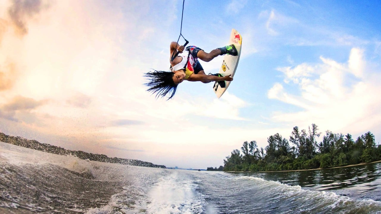In wakeboarding, a comfortable ride begins with the bindings, how they are placed on the board, what is the best foot for the forward position and having a great snug fit in those boots before hitting the top of the water.
