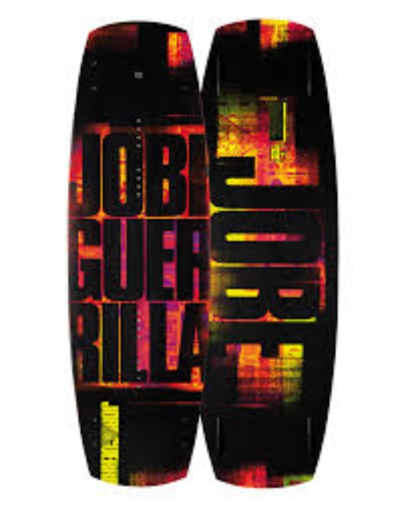 Jobe Guerrilla Flex M6 Series Wakeboard Review