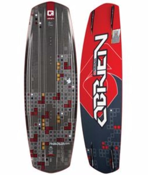 O'Brien Paradigm Wakeboard Review with Liquid Force Bindings 144cm
