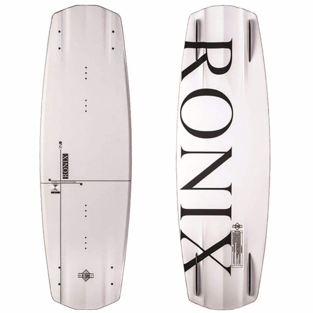 RONIX One ATR Carbon Edition - Anodized Throwback White Wakeboard