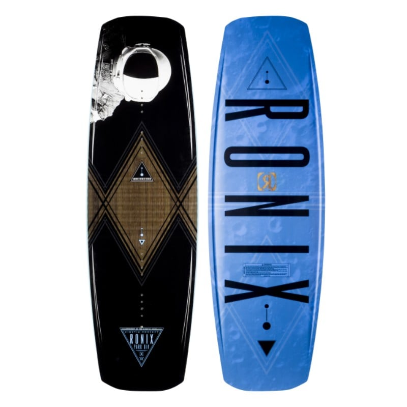 Ronix 2017 Kinetik Project Flexbox 1 Deep Space Blue Wakeboard