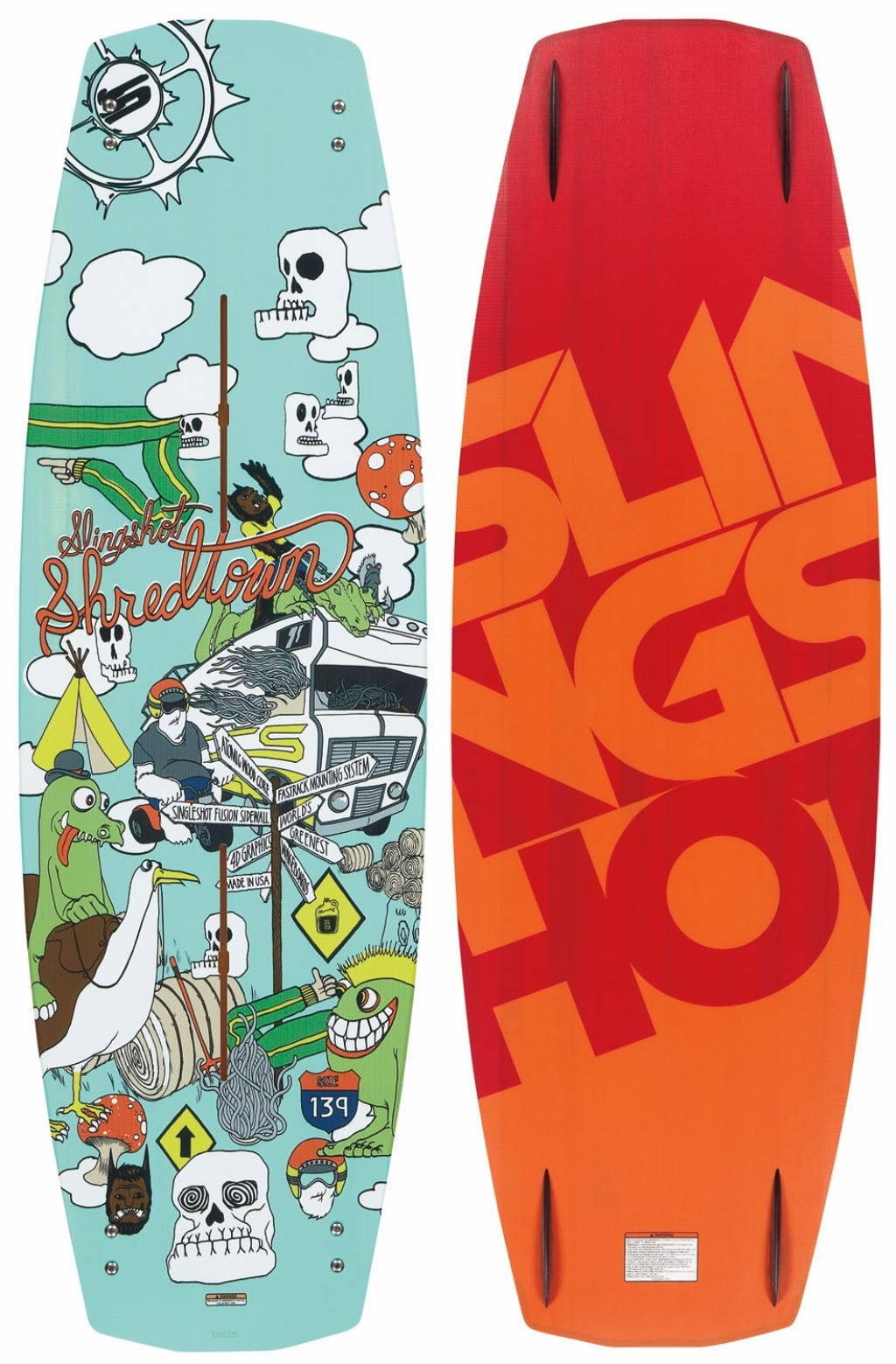 Slingshot Shredtown 135cm Men's Wakeboard Review