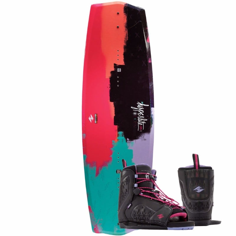 Hyperlite 2017 Eden Women's Wakeboard with Jinx Bindings