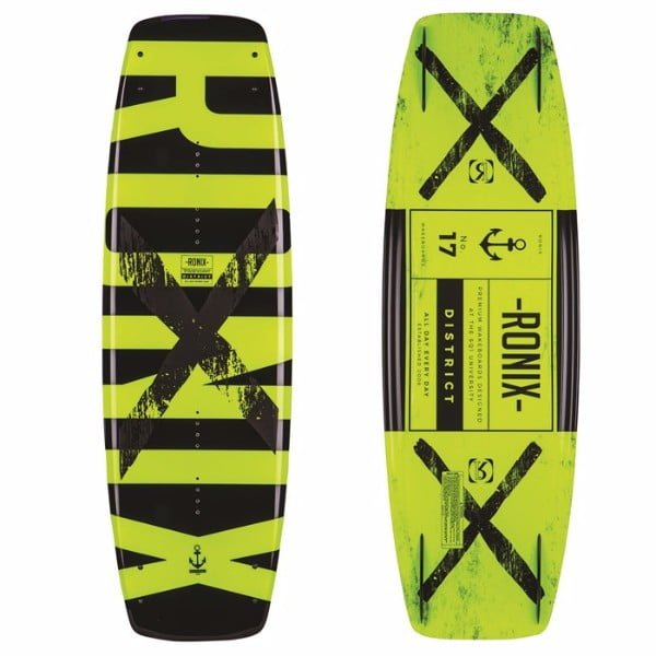 Ronix 2017 District Wakeboard Review